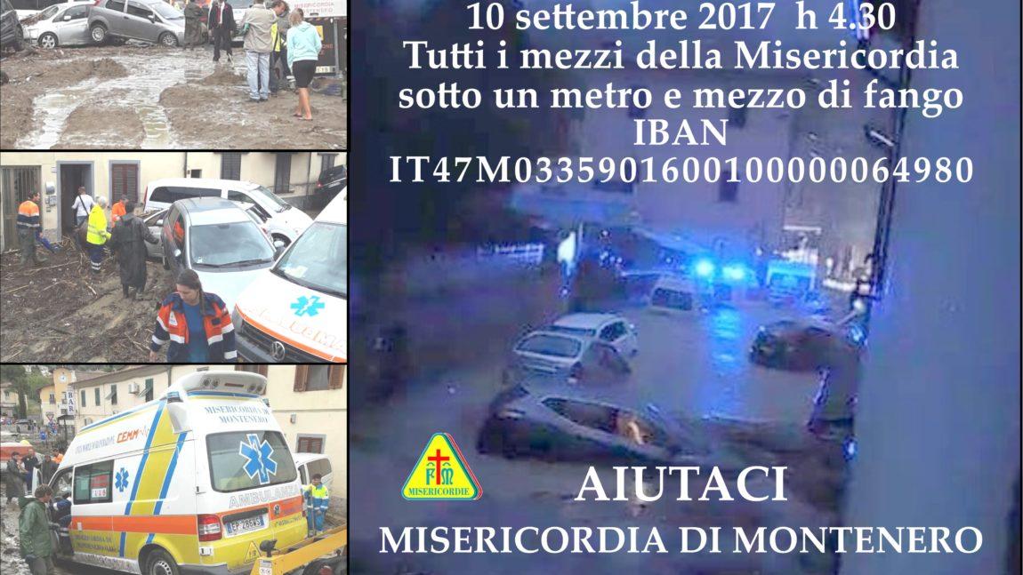 Aperta la sottoscrizione a favore della Misericordia di Montenero