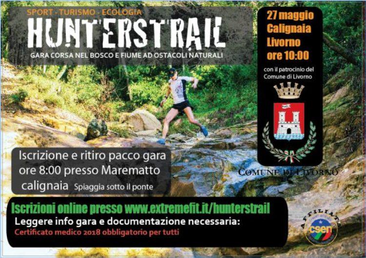 Hunterstrail, sulle colline a Calignaia, a favore della Misericordia di Montenero,  Domenica 27 Maggio