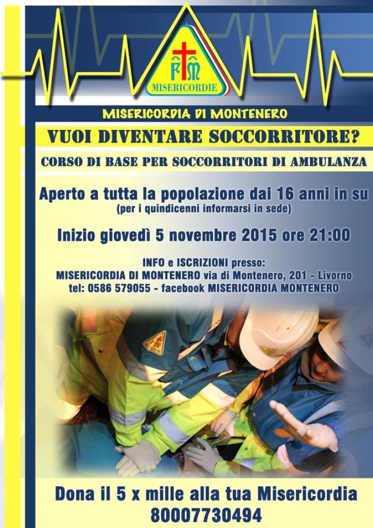 Corso di Livello base per soccorritori di ambulanza