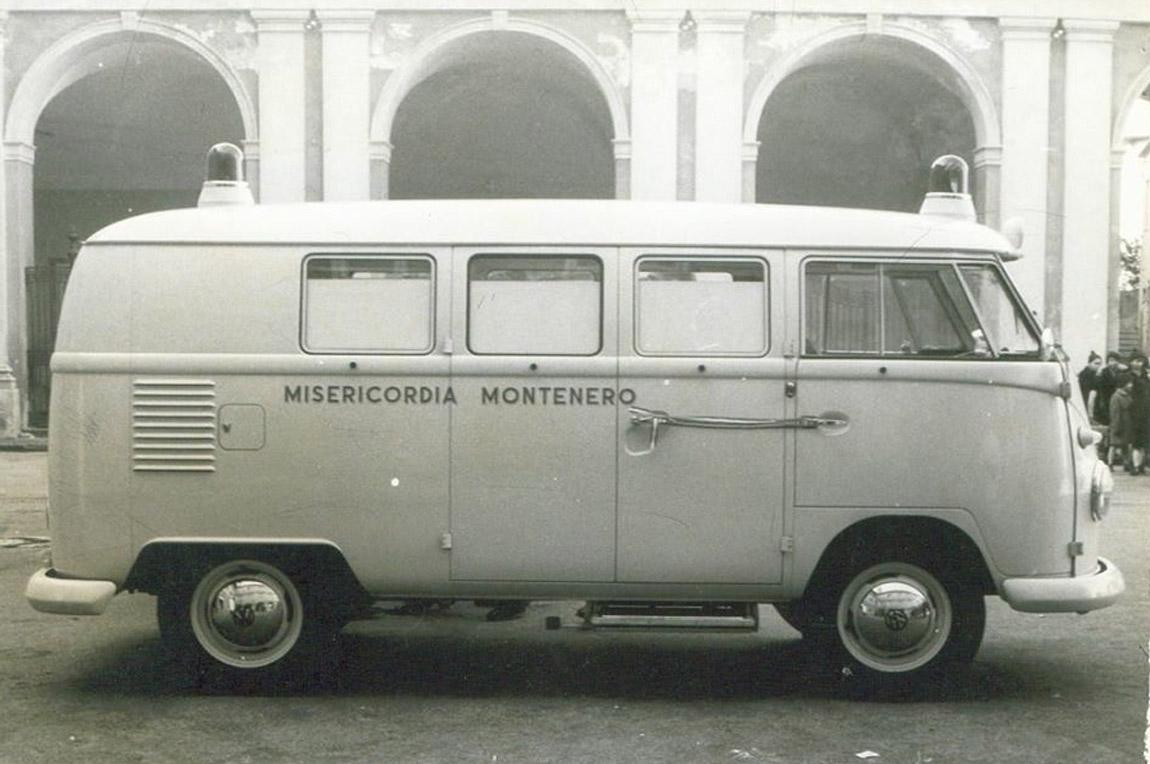 Vecchia Ambulanza misericordia montenero