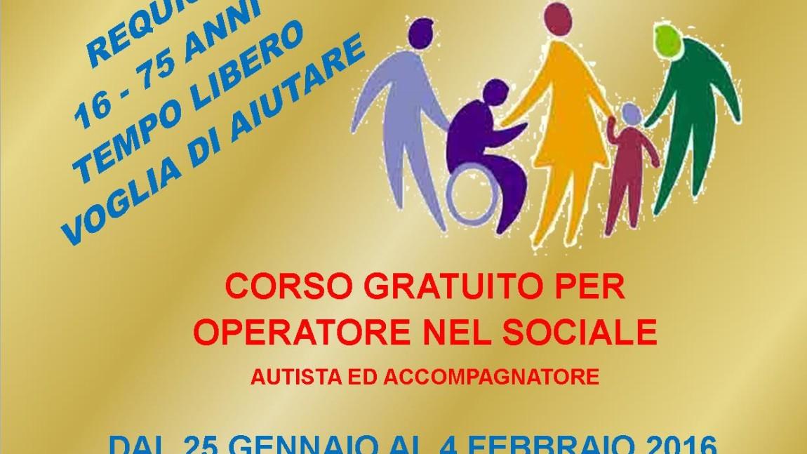 """Misericordia Di Montenero organizza nuovo corso in """"Operatori Nel Sociale, Autista e Accompagnatore"""""""