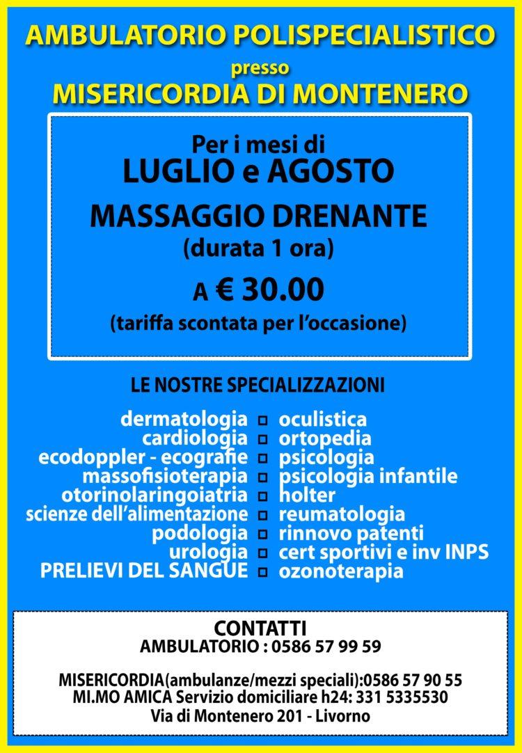 Tempo d'estate, tempo di massaggi (drenanti)