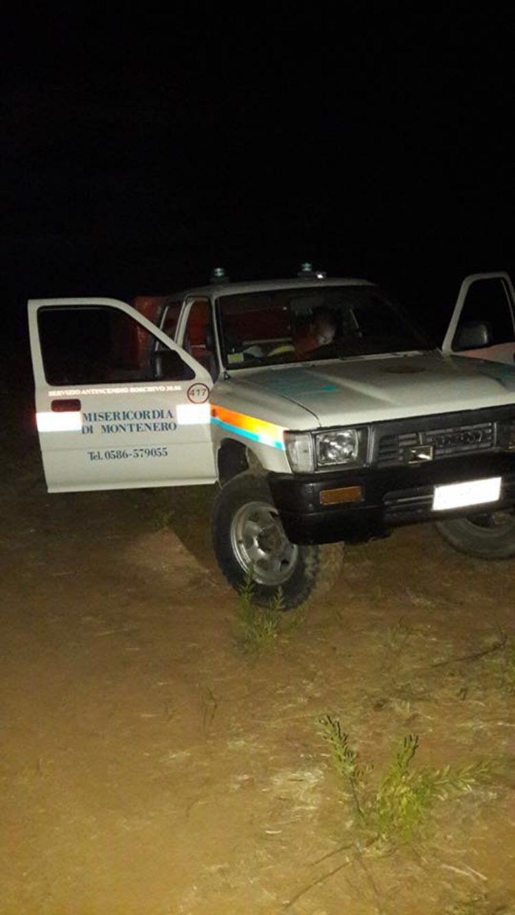 AIB: week end denso di impegni per i Volontari della Misericordia di Montenero