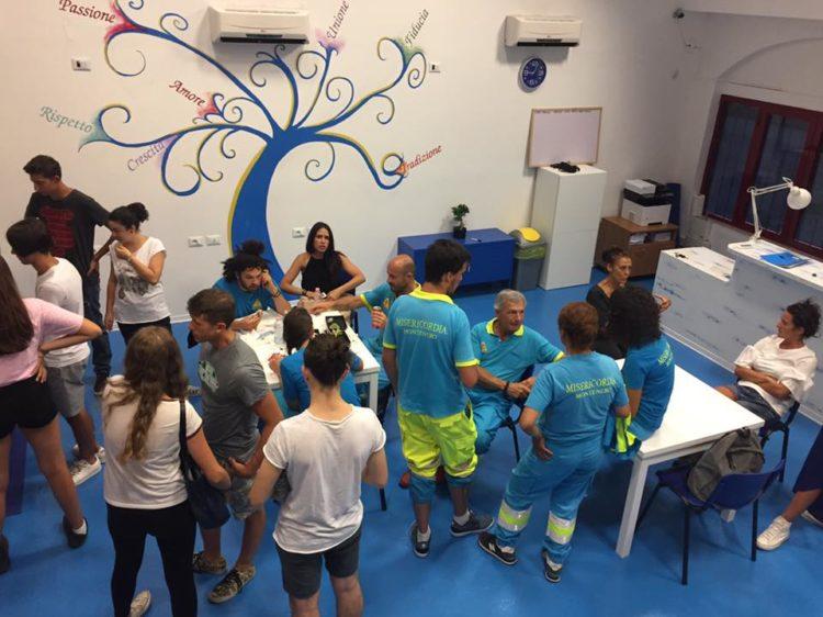 La Sezione La Leccia- Scopaia- Collinaia ospita già il nuovo Corso Base per Volontari Soccorritori