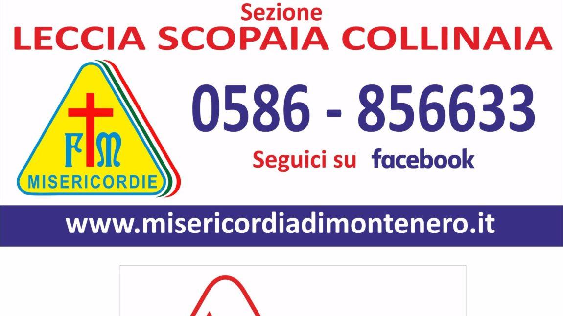 """Domenica 24 Settembre, ore 18 – Inaugurazione nuova Sezione """"La Leccia – Scopaia – Collinaia"""" –"""