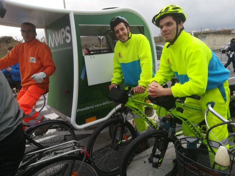 Di corsa in bici: buon successo della manifestazione a dispetto del tempo