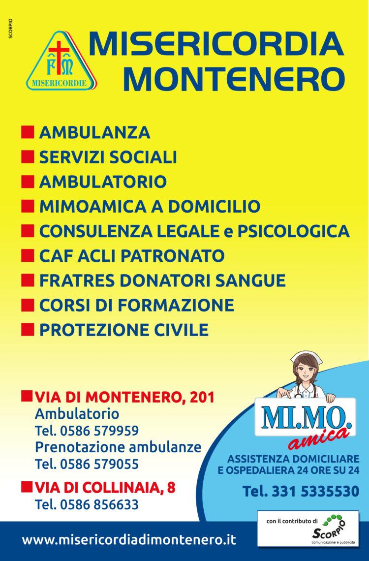 La nuova veste grafica delle pensiline della Misericordia di Montenero