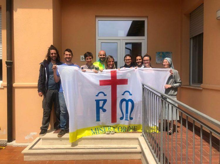 Corso Bls-d alla Casa Papa Papa Francesco della Caritas a Quercianella