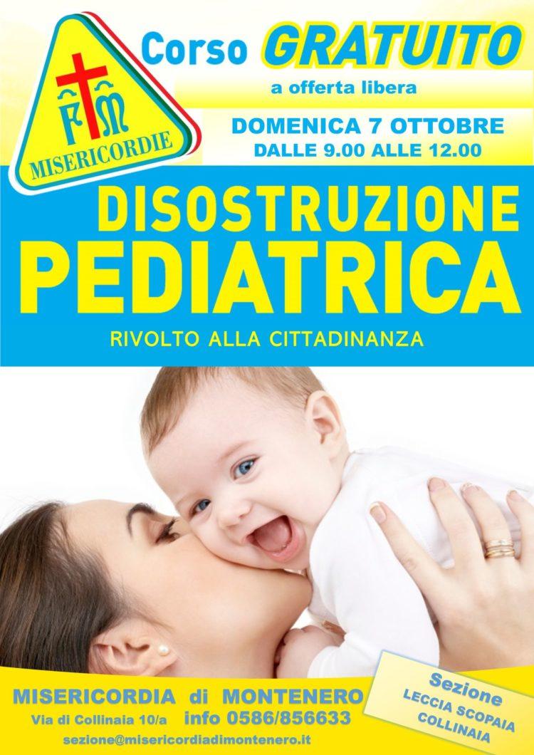 DOMENICA 7 OTTOBRE: CORSO DI DISOSTRUZIONE PEDIATRICA