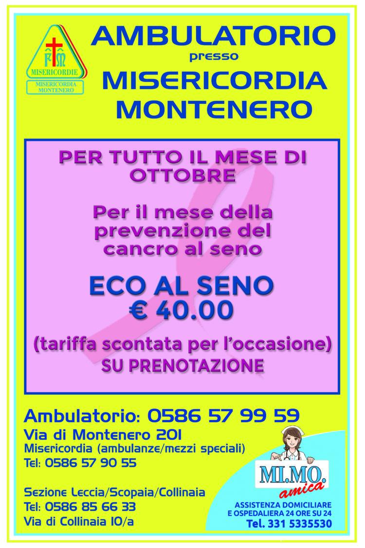 Ambulatorio: le nostre offerte per il mese di Ottobre