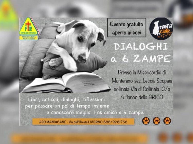 """Dialoghi a 6 zampe: venerdì 19 ottobre, sezione """"Leccia – Scopaia – Collinaia"""" ore 21"""