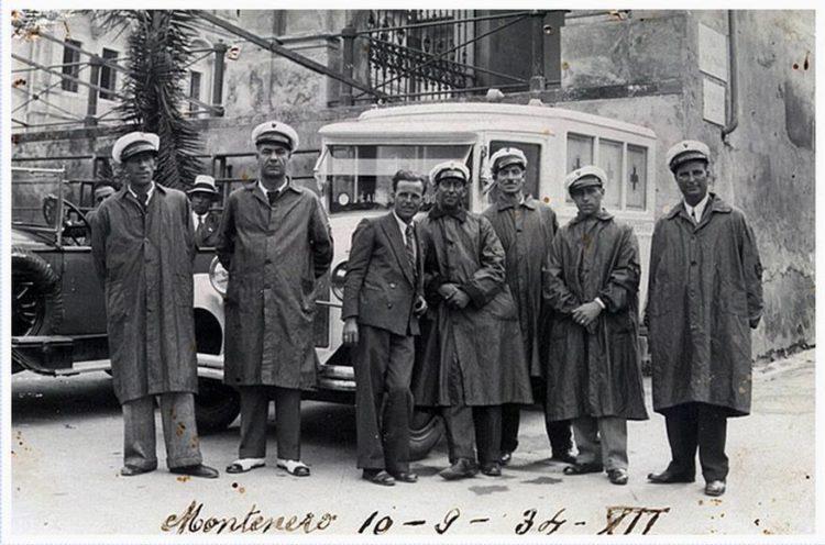 Una vecchia foto di repertorio degli anni '30