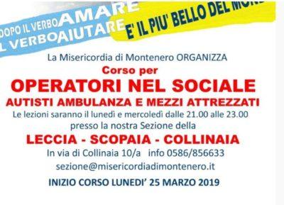 E' iniziato il Corso per Autisti Operatori nel Sociale e Autisti di Ambulanza