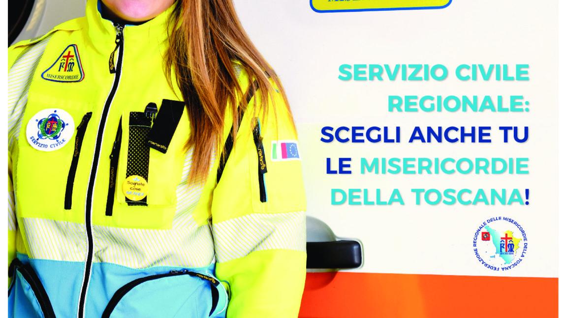 Servizio Civile Regionale – Misericordia di Montenero