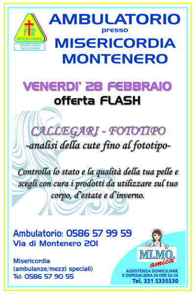 CALLEGARI DAY – giornata Flash!