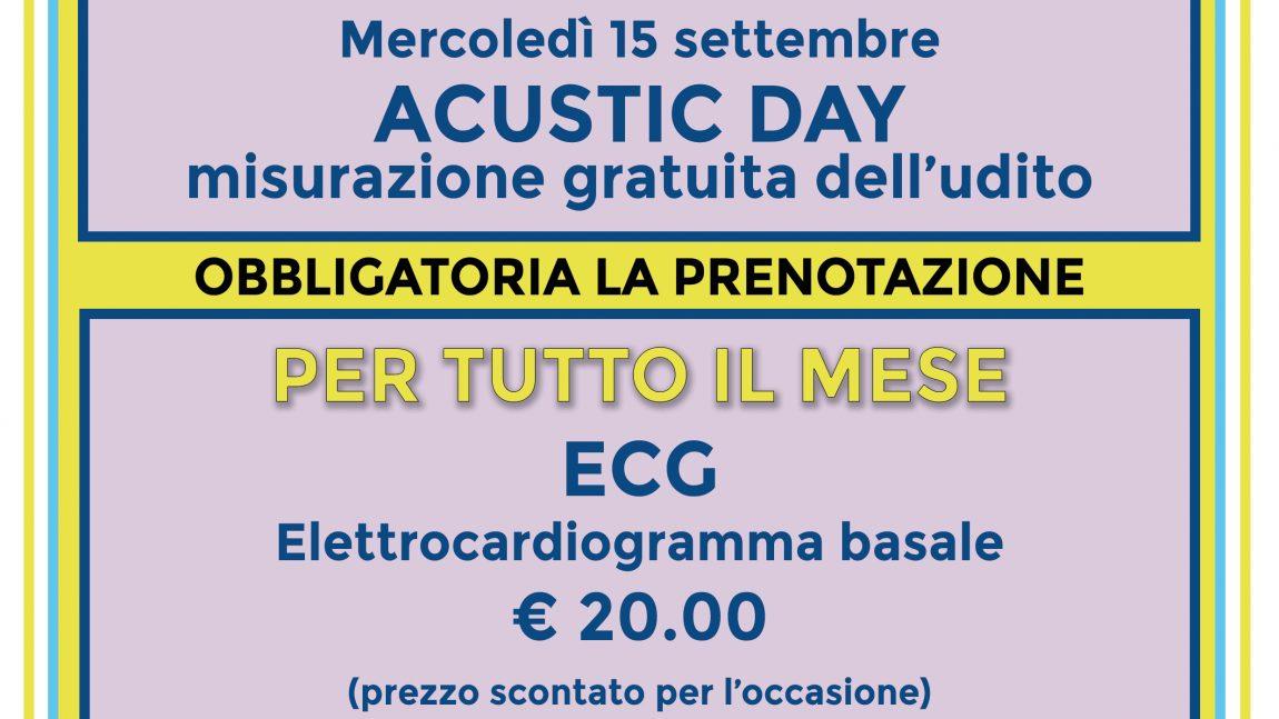 Ambulatorio presso Misericordia di Montenero: le nostre offerte per SETTEMBRE 2021